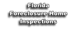 Florida Foreclosure Home Inspections
