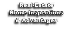 Real-Estate Home Inspections & Advantages